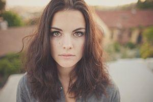 actress jaimie alexander hazel eyes face women brunette