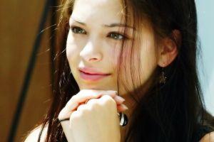 actress kristin kreuk women brunette