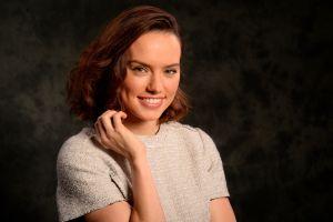 actress women daisy ridley brunette