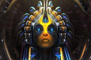 age of wonders 3 fantasy art digital art futuristic artificial intelligence artwork