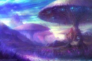 aion magic mushrooms aion online fantasy art