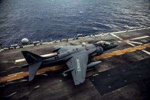 aircraft carrier military aircraft aircraft av-8b harrier ii