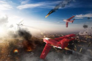 airplane pc gaming war thunder vehicle screen shot