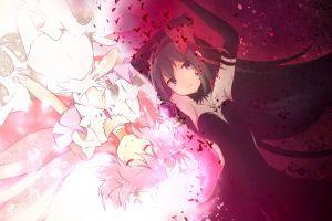 akuma homura anime mahou shoujo madoka magica kaname madoka anime girls akemi homura