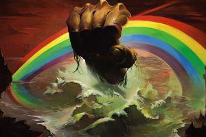album covers cover art music rainbows artwork