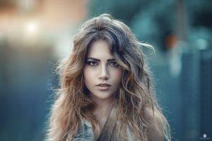 alessandro di cicco face women portrait model