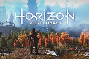 aloy (horizon: zero dawn) logo horizon: zero dawn playstation 4