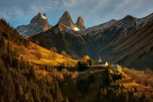 alps nature landscape mountains