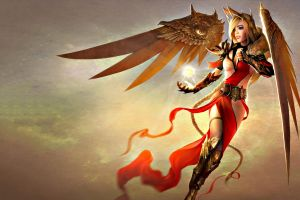 angel wings fairies fantasy girl fantasy art