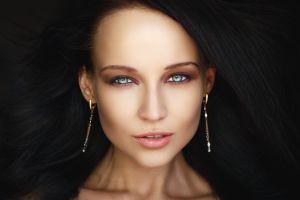 angelina petrova closeup women face