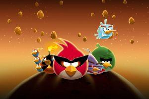 angry birds cartoon angry birds space