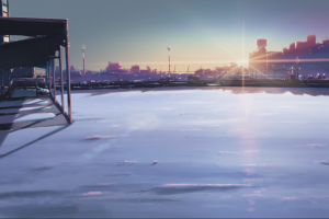 anime 5 centimeters per second makoto shinkai