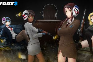 anime anime girls payday 2