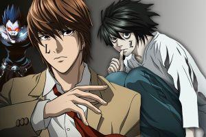 anime boys anime death note