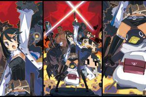 anime collage disgaea anime girls