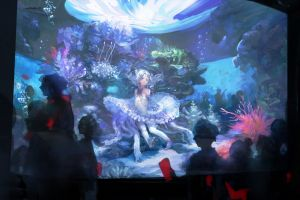anime fantasy art anime girls underwater