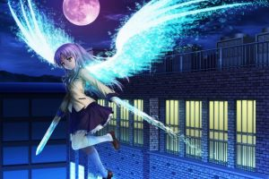 anime girls angel beats! tachibana kanade anime