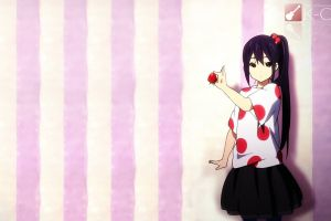 anime girls anime fruit strawberries k-on!