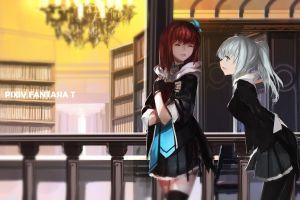 anime girls anime pixiv fantasia t pixiv fantasia original characters