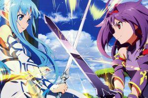 anime girls anime sword art online yuuki asuna artwork konno yuuki
