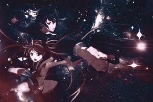 anime girls artwork anime aihara enju black bullet