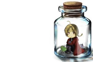 anime girls chibi elric edward full metal alchemist anime