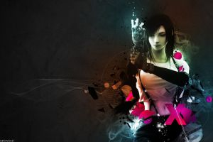 anime girls digital art final fantasy vii: advent children video game art tifa lockhart anime