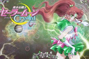 anime girls manga long hair green eyes
