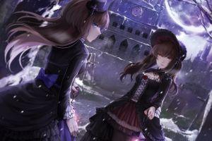 anime girls original characters anime lolita fashion