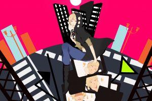 anime girls red eyes manga kagerou project anime
