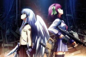 anime girls tachibana kanade anime angel beats! nakamura yuri