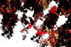 anime girls touhou hakurei reimu meola anime