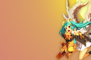 anime hatsune miku twintails vocaloid anime girls wings