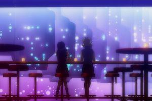 anime katsuragi misato neon genesis evangelion bar women