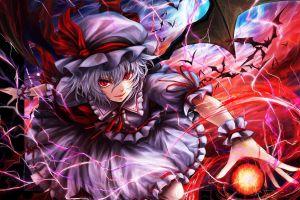 anime remilia scarlet touhou anime girls