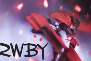 anime rwby ruby rose (character)