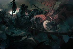anthro dark fantasy art furry