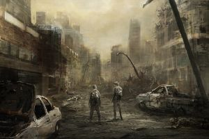 apocalyptic concept art artwork