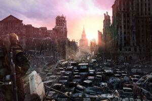 apocalyptic video games metro 2033 concept art dystopian