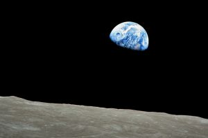 apollo moon earth space
