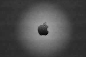 apple inc. minimalism monochrome