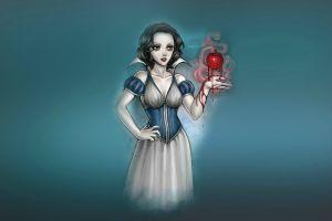 apples artwork snow white fantasy art
