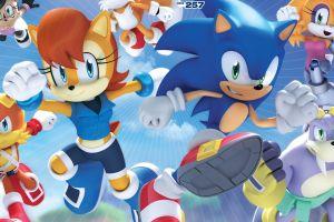 archie comics sega comic art sonic the hedgehog comic books video games