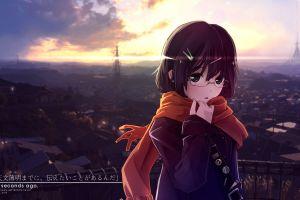 architecture anime anime girls