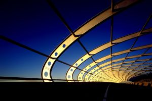 architecture clear sky photography highway bridge
