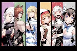 arde liliruca wallenstein ais dungeon ni deai wo motomeru no wa machigatteiru darou ka hestia anime girls anime bell cranel