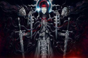 armor fantasy art warrior