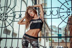 artem solovьev armpits skinny solovbev blonde pants varvara g