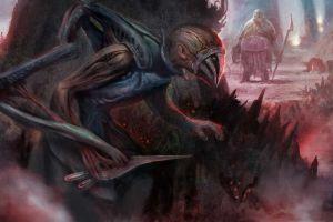 artwork fantasy art creature magic: the gathering