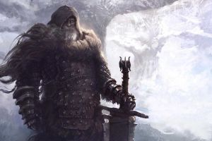 artwork fantasy art warrior fantasy men